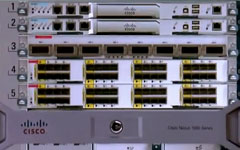 Cisco Nexus Switching in a Rack in 3D
