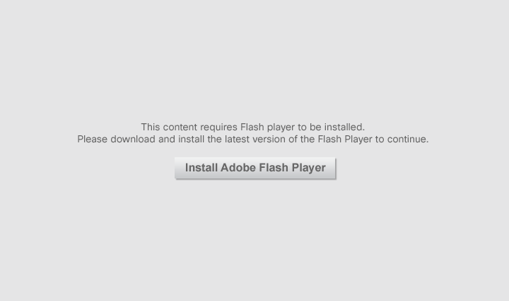 Viewing this video requires the latest version of Adobe Flash Player with JavaScript enabled.