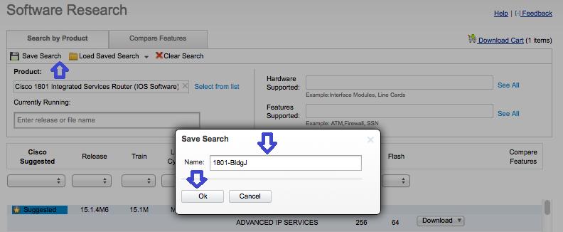 savesearch